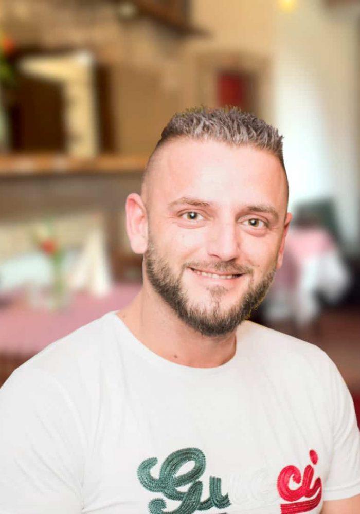 Gino S. - Inhaber der Trattoria Da Gino - Italienisches Restaurant Storkow